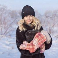 Лида и кролик :: Светлана Никотина