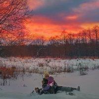 закат... :: Татьяна Полянская