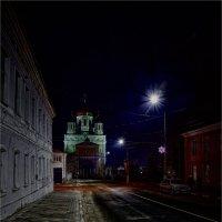 Тротуар в ночи - змеиная шкура! :: Laborant Григоров