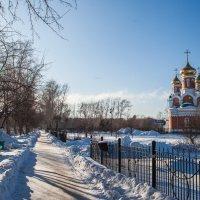 Комсомольск-на-Амуре Церковь :: Валерия Красношлык