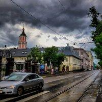На Чистопрудном дождь прошёл... :: Ирина Falcone