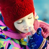 Нос холодный,значит я здорова! :: Инна Пивоварова