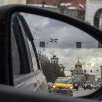 Храм Христа Спасителя глазами водителя :: Юля Колосова