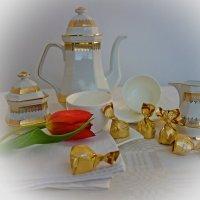 Будем пить чай.... :: Galina Dzubina