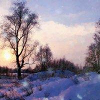Зима ...Морозная и снежная ... :: Евгений Юрков