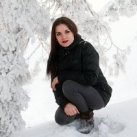 В зимнем лесу :: Анна Анновна
