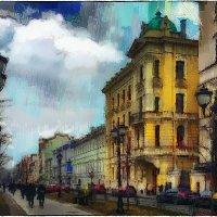 My magic Petersburg_01801  Фурштатская ул. :: Станислав Лебединский