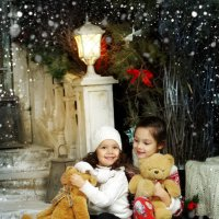 Зимой так греют плюшевые мишки:) :: Белла Витторф