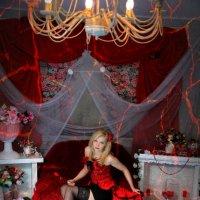 Она была прекрасная, а платье было красное))) :: Елена Фотостудия ПаФОС