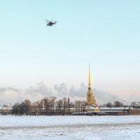 Зимний полет. :: Дмитрий Климов