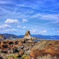 каменистый берег :: Slava Hamamoto
