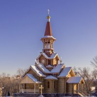 Храм в честь Успения Божией Матери. :: Сергей Исаенко