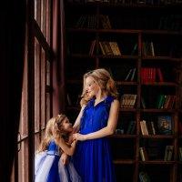 мама и дочка :: галина кинева