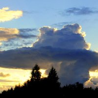 Необычное облако :: Leonid Tabakov