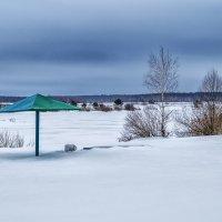 Зимний пляж :: Андрей Дворников