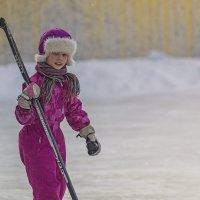 Дворовый хоккей :: Елена Баландина