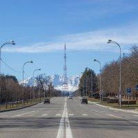 IMG_0831 вид на горы из города :: Олег Петрушин