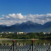 озеро Сайран Алматы. :: Murat Bukaev