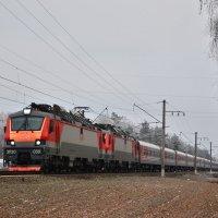 Электровоз ЭП20-030 :: Денис Змеев