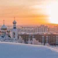 Рассвет на городом :: Андрей Кузнецов