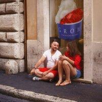 Мимикрия в Риме. :: Любовь Гайшина