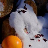 Жаркий апельсин и снежный холод :: Елена Фалилеева-Диомидова