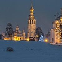 Зимний вечер на Соборной горке :: Наталья Кузнецова
