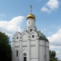 Храм на Монастырском острове. :: Наталья