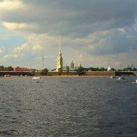 Нева и Крепость :: Сергей Карачин