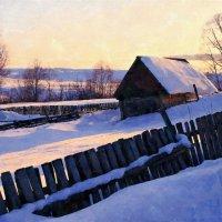Там, за деревенскою околицей ... :: Евгений Юрков