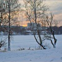 Закат в Крылатском :: Александр Лебедевъ