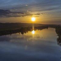 Весенний закат на Дону :: Юрий Клишин