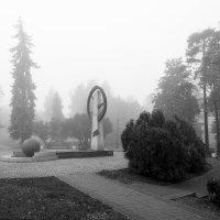 город в тумане :: Алексей Носков