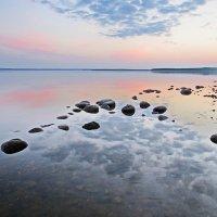 вода рассвет и камни :: Владимир Ге