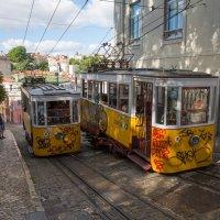 Фуникулеры в Лиссабоне :: Владимир Леликов