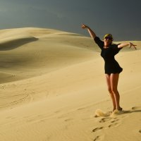 На белых дюнах Вьетнама :: Марина Мудрова