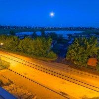 Вид на озеро с балкона :: Елена Баландина