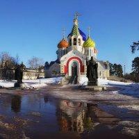 Церковь Святого Игоря Черниговского (Ново-Переделкино) :: Марина Назарова