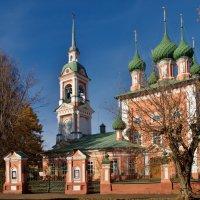Церковь. во имя святителя Иоанна – Златоуста (1628 год) :: Олег