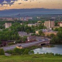 Вечер над городом. :: Natalia Furina