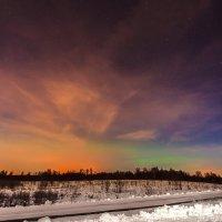 Про северное сияние... :: Алексей Шуманов