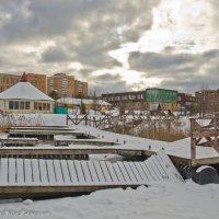 Зимняя пристань. :: Виктор Евстратов