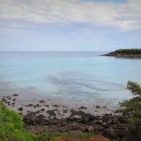 Море было спокойным, - в этот день отдыхало и волной бирюзовой нежно берег ласкало... :: Елена Ярова