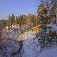 Февраль на земле Сибирской :: Владимир Холодный