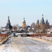 Деревянный храмовый ансамбль. :: Светлана Ку