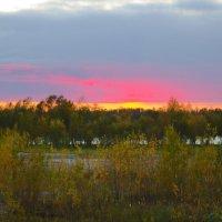 Закат над рекой :: Андрей Кузнецов