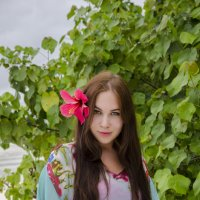 Тропический цветок :: Марина Мудрова