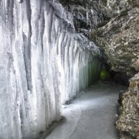 Ледяной тоннель :: Светлана Игнатьева