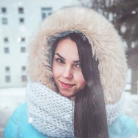 Зимний портрет :: Олег Новогурский