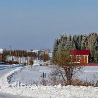 Первый выезд в деревню в 2016 году. :: Пётр Сесекин